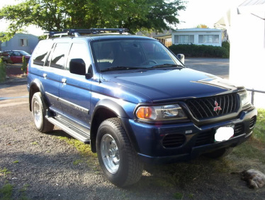 this 2001 mitsubishi montero sport came to me as a normal run of the mill suv with a 30 v6 since then i have been actively altering its condition a